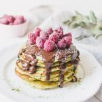 Vegan Matcha Pancakes Healthy and Easy Recipe This Matcha pancakes recipe takes no more than 15 minutes to come together! Light, fluffy and full of clean, matcha flavor, these pancakes contain no refined sugar or dairy. Perfect for delicious and healthy breakfast! matcha pancakes recipe matcha pancakes healthy matcha pancakes vegan matcha pancakes easy matcha pancakes fluffy matcha pancakes photography matcha pancakes healthy recipe