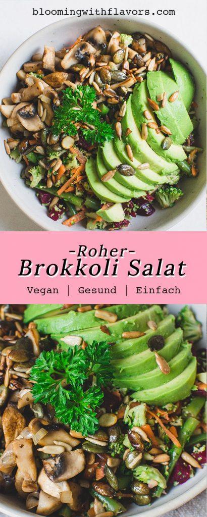 Roher Brokkoli Salat