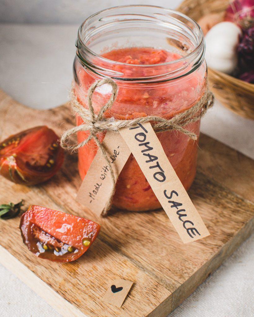 Einfache Tomaten Sauce_Easy Tomato Sauce
