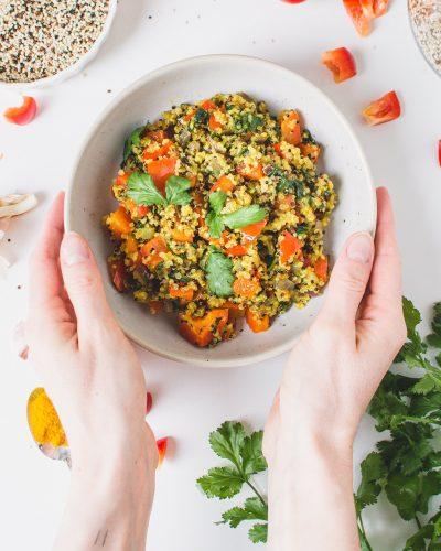 Warm Quinoa Salad_Vegan Healthy Easy-2